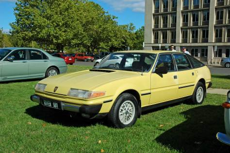 DSC_0164 1979 Rover 3500 SD1 Canberra ACT 27-3-2011