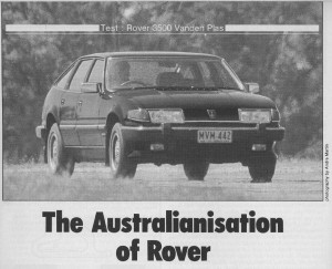 Modern Motor July 1985 Title Photo