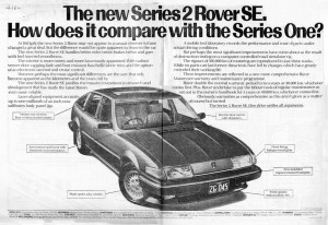DSC_0009 Rover 3500 SE Series 2 Launch Ad 4-11-1982