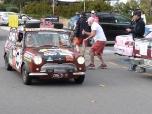 P1100204 1969 Morris Mini Van Canberra ACT 9-5-2015