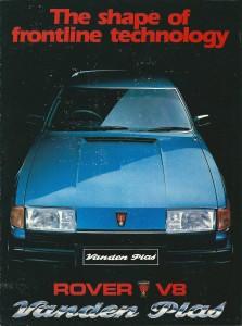 DSC_0001 Rover Vanden Plas South Africa 1982 Brochure Cover