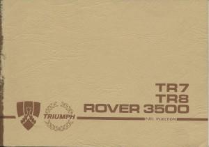 DSC_0103 1980 Triumph TR7 TR8 Rover 3500 SD1 NAS Maintenance Handbook front cover