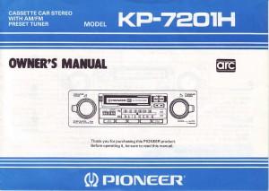SD1 radio Pioneer KP7201H