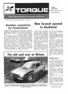 Torque May 1979 Rover SD1