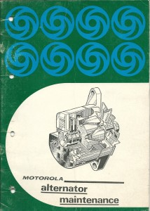 DSC_0102 Jaguar Rover Triumph Motorola Alternator Maintenance Manual Leyland Australia TP1024