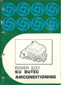 DSC_0107 Rover SD1 SU Butec Airconditioning Manual 1980 Leyland Australia TP1018