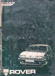 IMGP3647b Rover SD1 Series 2 Workshop Manual AKM5343
