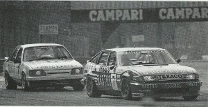 Rover 1-2 Monza Touring Car Championship June 1986 Intro Photo