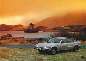 Rover 3500 SD1 Brochure Introduction Photo