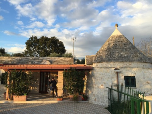 We stay at a lovely self contained trullo accommodation at Residenza di nonna giulia