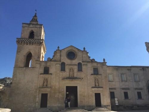 The facade of Chiesa dei Santi Pietro e Paolo