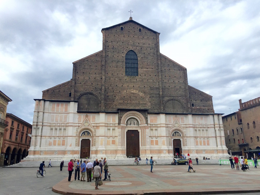 San Petronio Basilica and its half finished facade