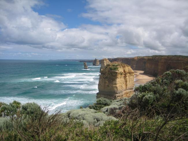 Twelve Apostles on a sunny day