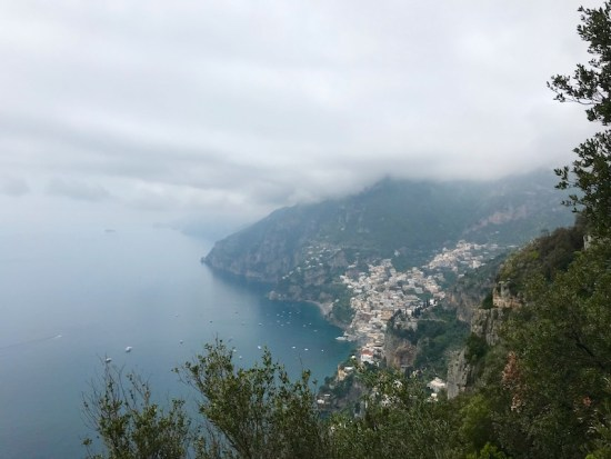 Path of the Gods, Positano
