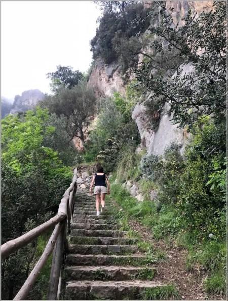 Praiano stairs