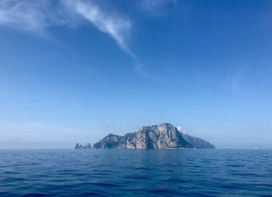 Capri Island by ferry