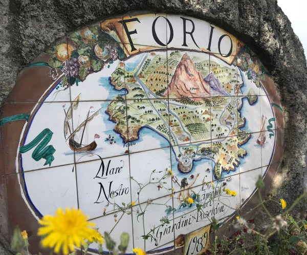 Ceramic Forio Sign