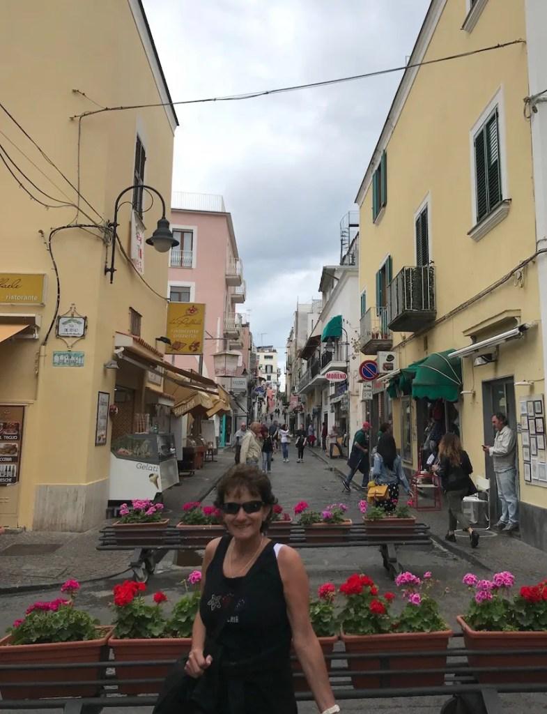 Street in Ischia Ponte