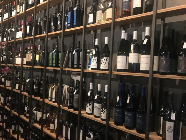 Evoe wine bar wines