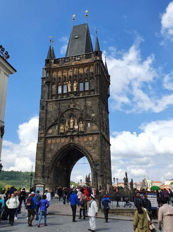 Prague Old Town Bridge Tower, one of my favourite things to do during four days in Prague