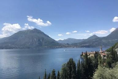 View of Varenna during four days in Lake Como