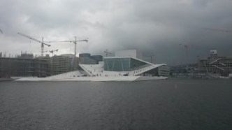 The Oslo opera house is possibly my favourite building I've seen. The roof is walk-able and open to the public at all hours, and the whole building is designed to look like an iceberg, with the people on it as penguins.