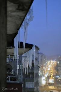 Icicles do not sleep