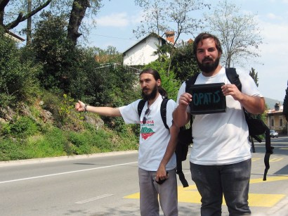 """High-tech hitchhiking"" by Worldwide Hitchhiker"