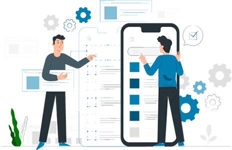 Design and development mobile apps