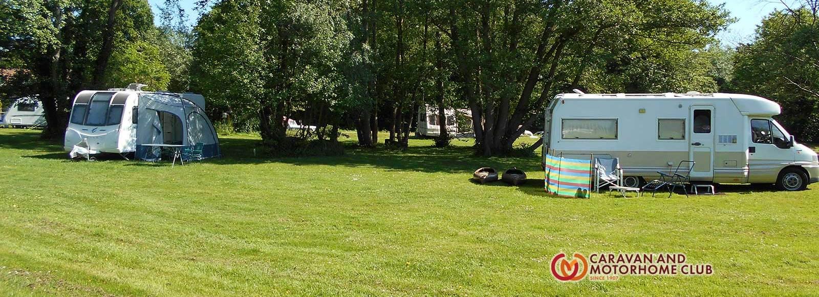 caravan & camping site Geldeston Beccles Suffolk