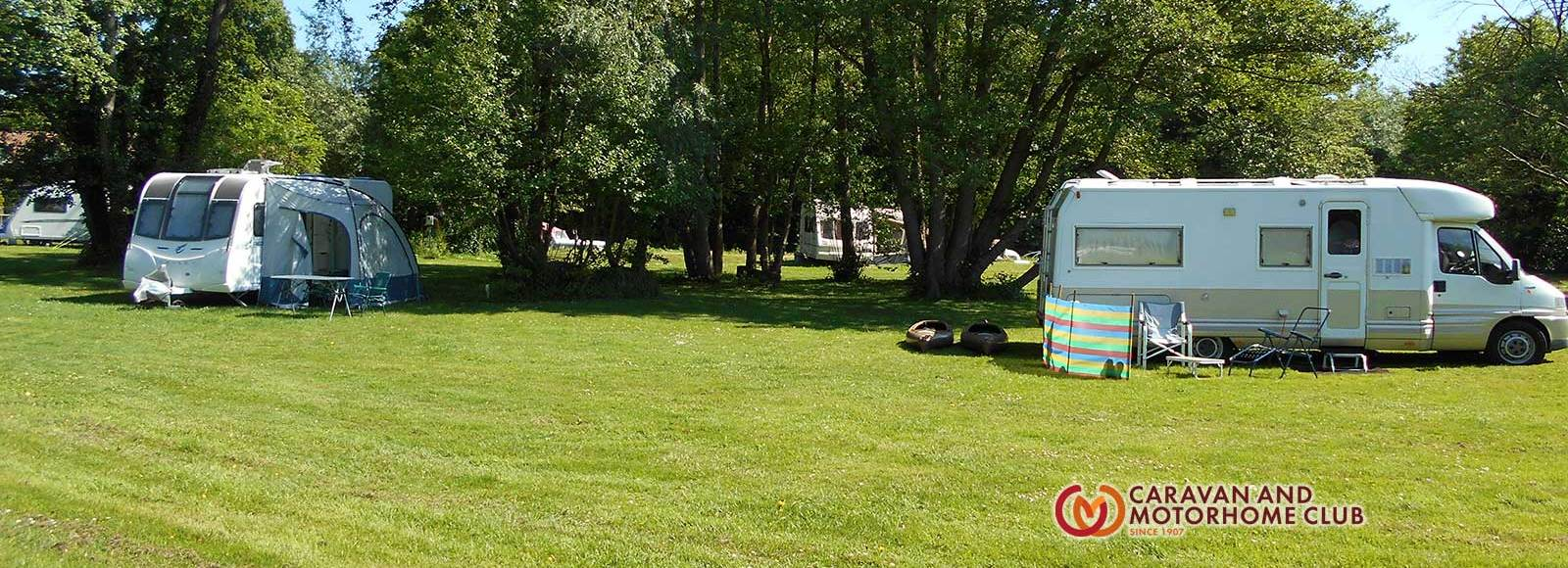 caravan & camping site Geldeston Beccles Suffolk