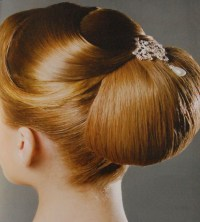 Day 17 of 30 styles in 30 days: chignon  Rowan January