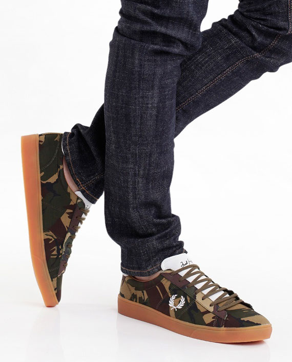 Fred-Perry-Spencer-Camo-Canvas-British-Olive-3
