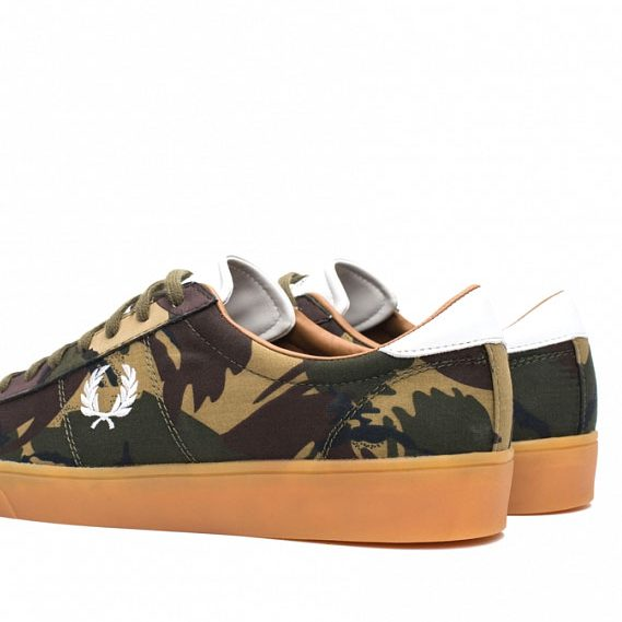 Fred-Perry-Spencer-Camo-Canvas-British-Olive-4