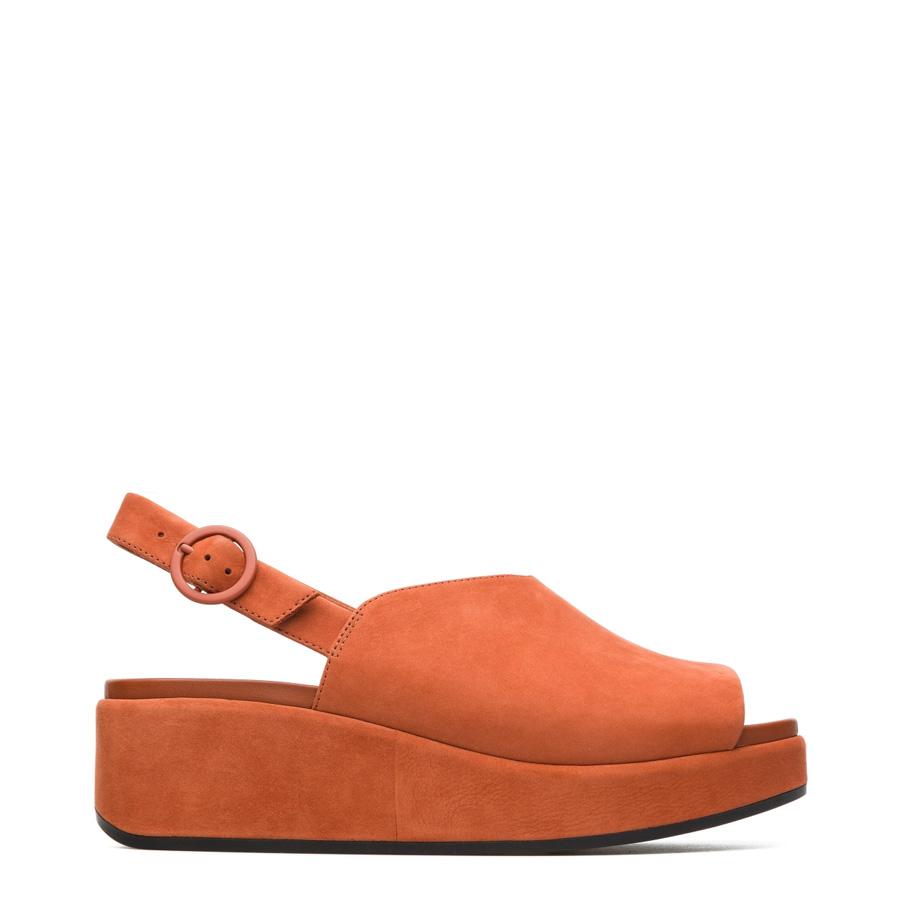 2532cc078ca Home   Products   Footwear Women s   Women s Wedges   Camper Misia Rust  Women s