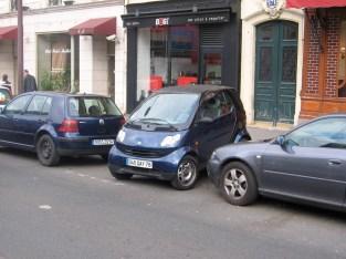 Paris parking