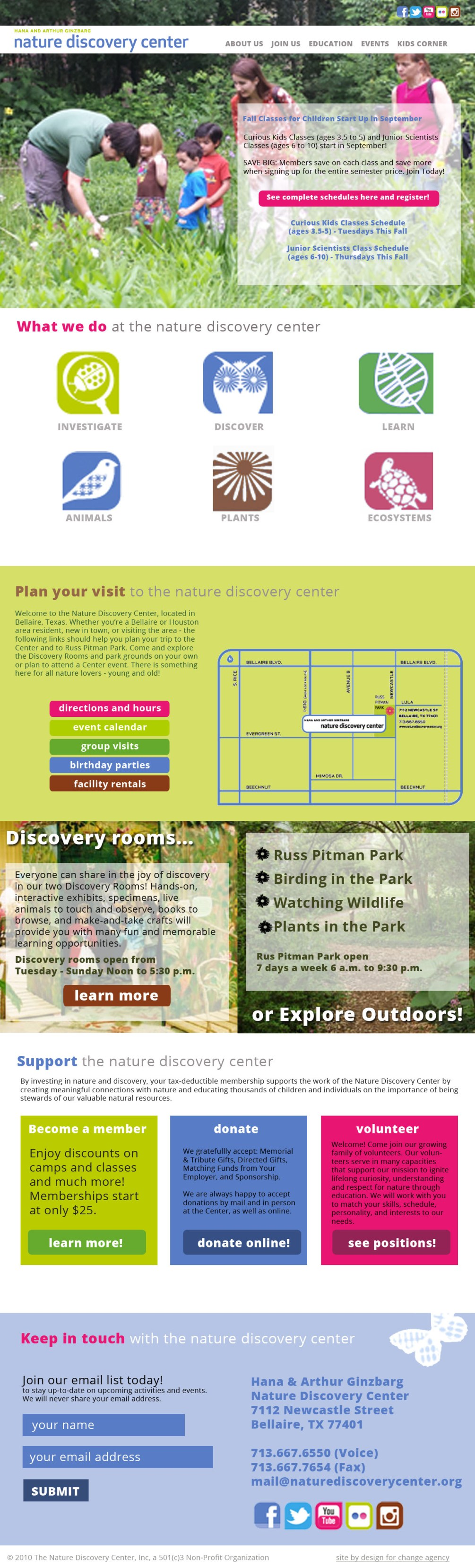 nature discovery center