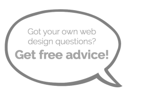 free web design advice
