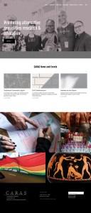 caras website design psychologist