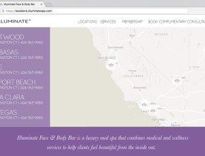 spa web design bay area