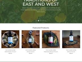 web design for retail shop