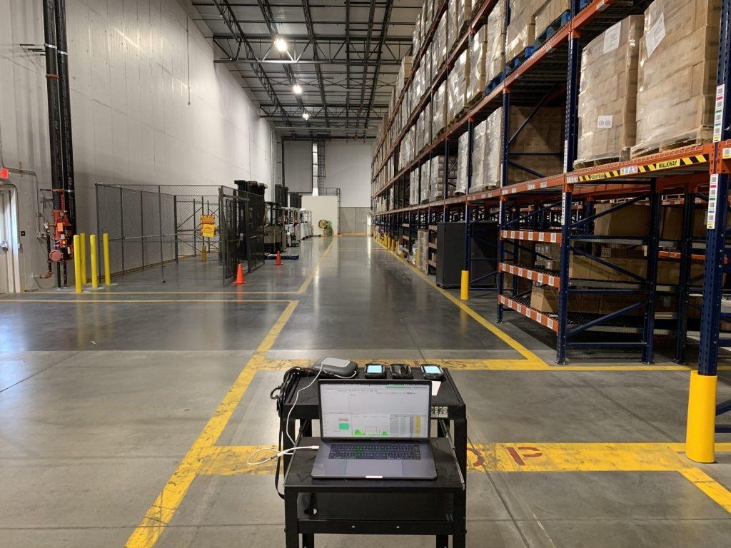 Warehouse Wi-Fi validation survey