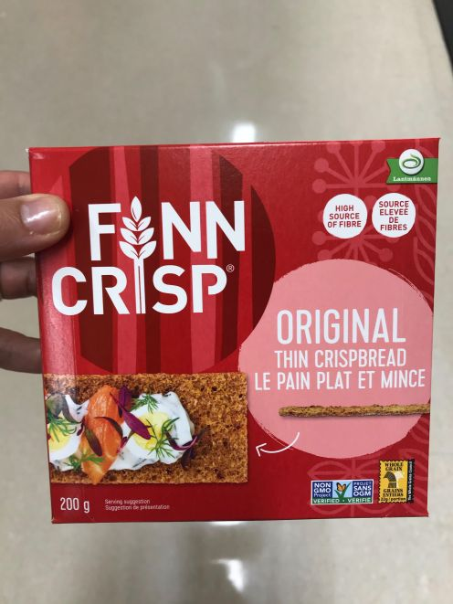 If individuals don't like Ryvita, you may like Finn Crisps better. The concept is the same. You must add some spread on these crackers to make it tasty but you will feel satisfied after 2 or 3 of these crackers.