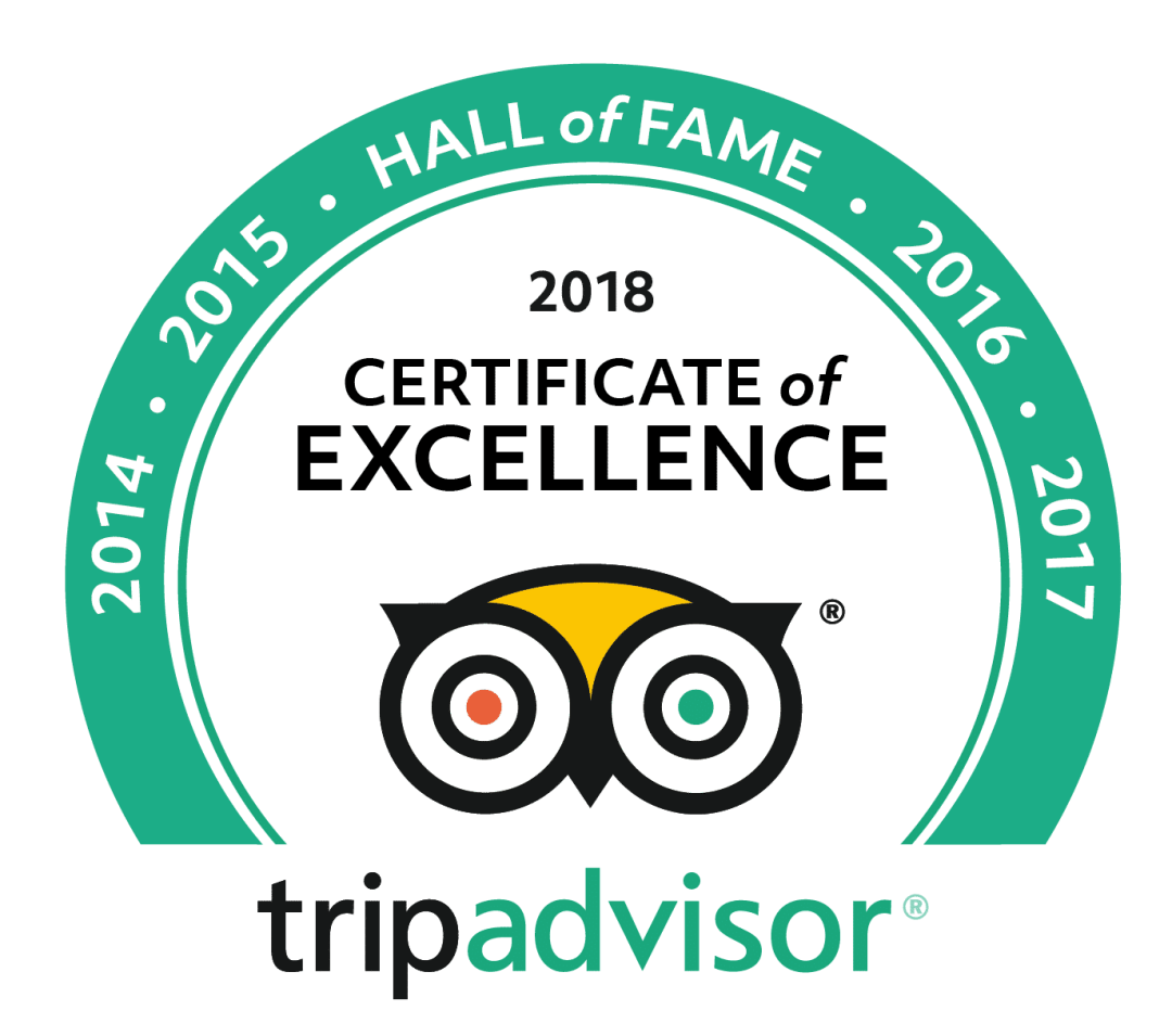 trip advisor hall of fame badge