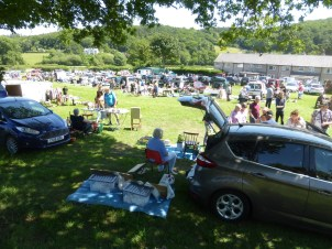Car boot sale at Rowen