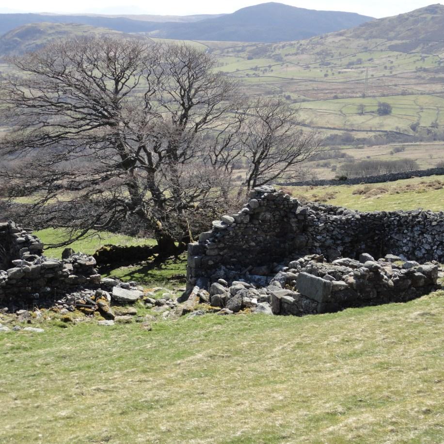Huw Tom's home at Pen y Ffridd near Rowen