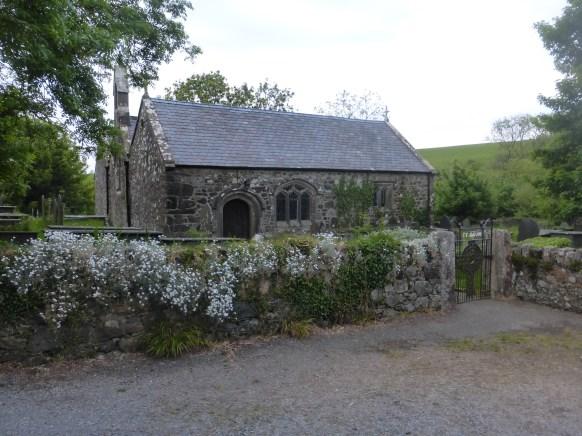 The pilgrims' church at Llangwnnadl