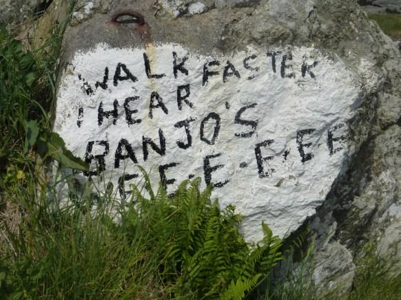 I hear banjoes