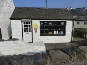 Ice cream shop, Aberdaron