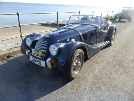 Morgan at Cricieth